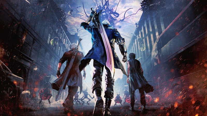 اتمام بازی Devil May Cry 5