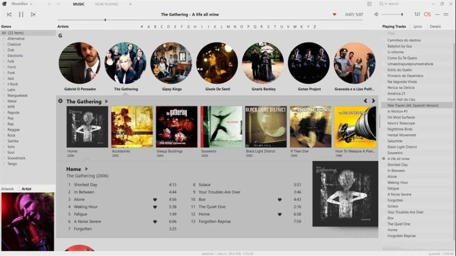 بهترین موزیک پلیرهای ویندوز