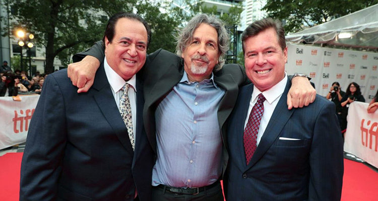 نیک وللونگا، برایان کیوری و پیتر فارلی - فیلم Green Book