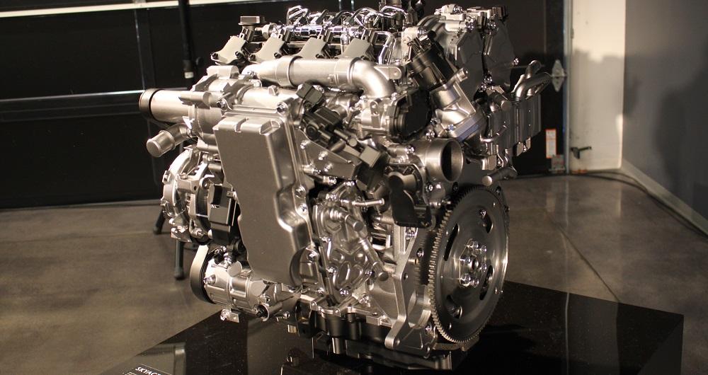 موتور Skyactiv-X مزدا