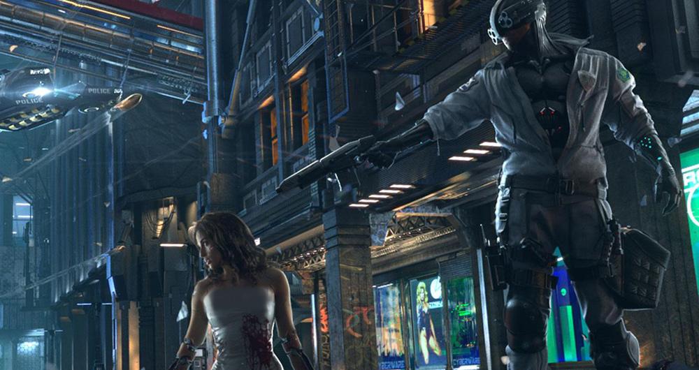 بازی Cyberpunk 2077 در مراسم E3 2019