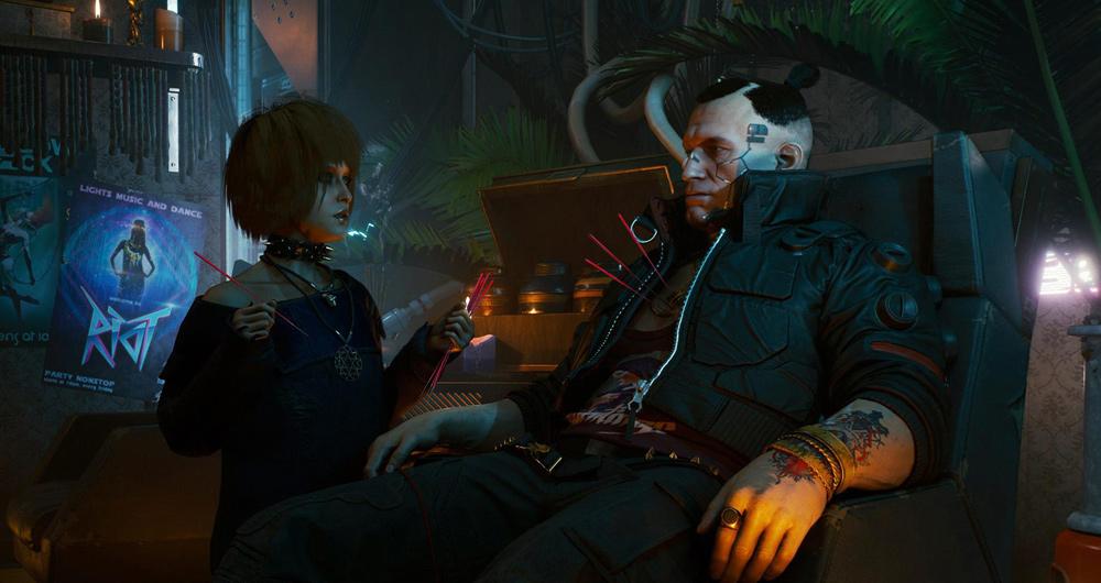ساخت بازی Cyberpunk 2077