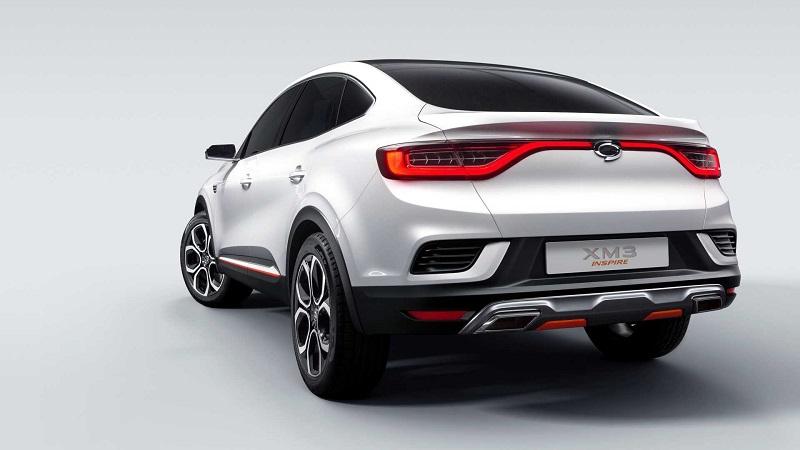 معرفی خودروی مفهومی سامسونگ XM3 Inspire