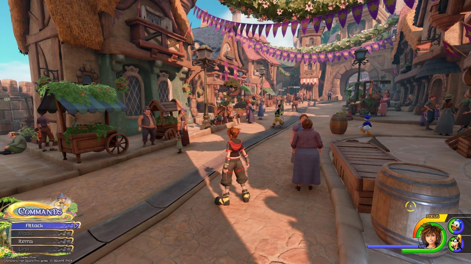 بررسی بازی Kingdom Hearts 3