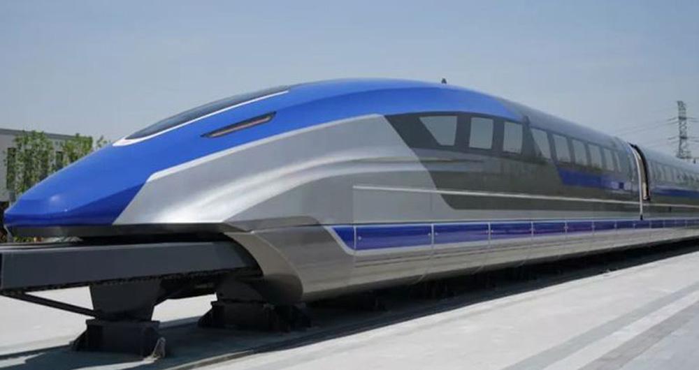قطار سریع السیر مگلو در چین به سرعت 600 کیلومتر...