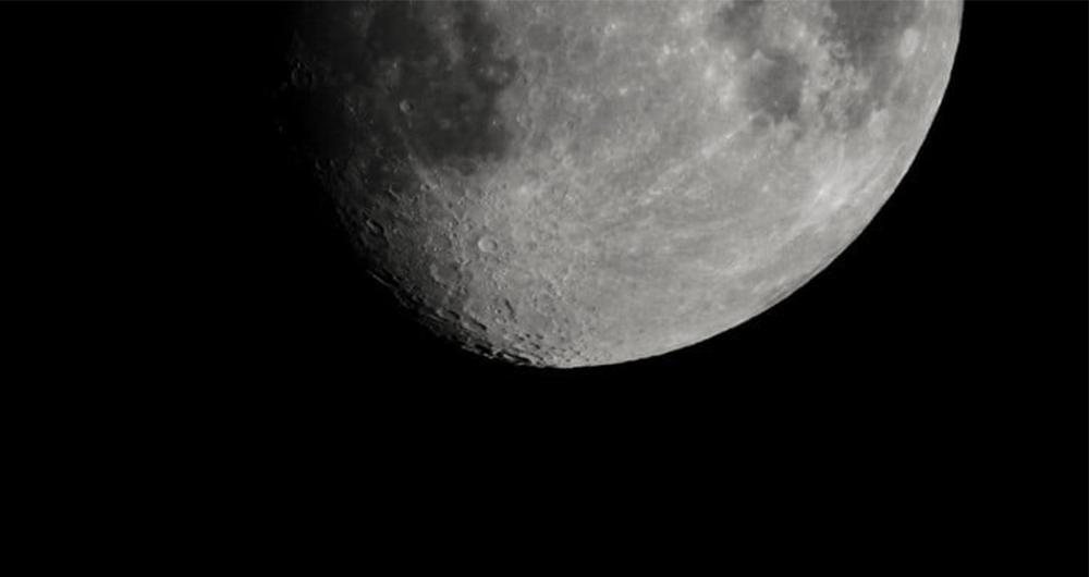 اندازه کره ماه