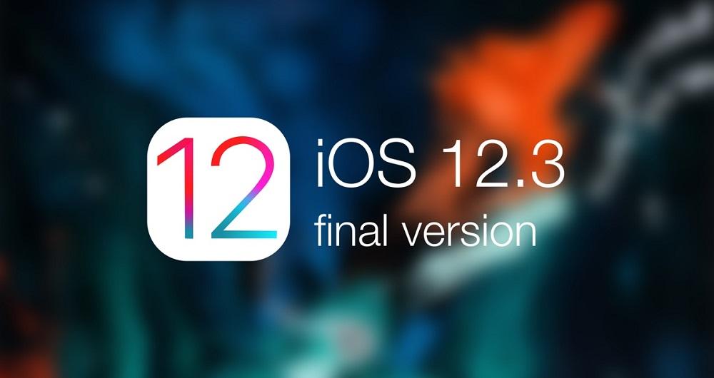 سیستم عامل iOS 12.3