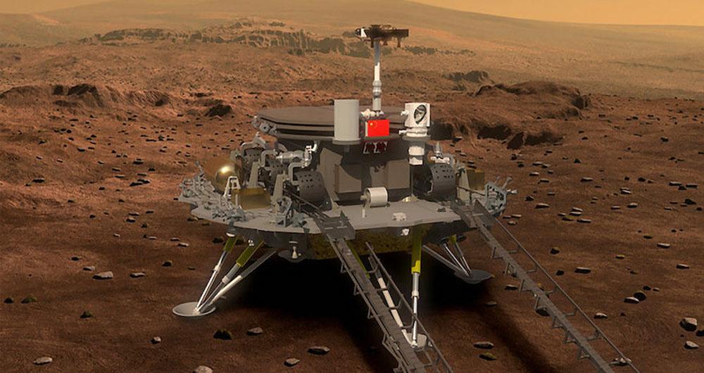 فضاپیمای چین سال 2020 به مریخ فرستاده می شود