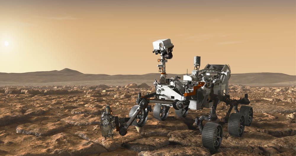 گاز متان در مریخ