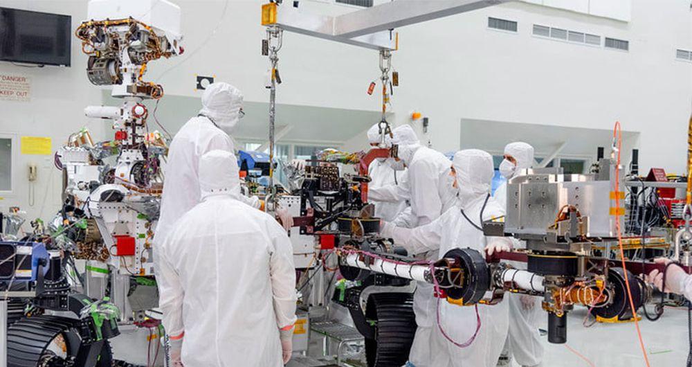 مریخ نورد 2020 ناسا به بازوی رباتیک مجهز شد