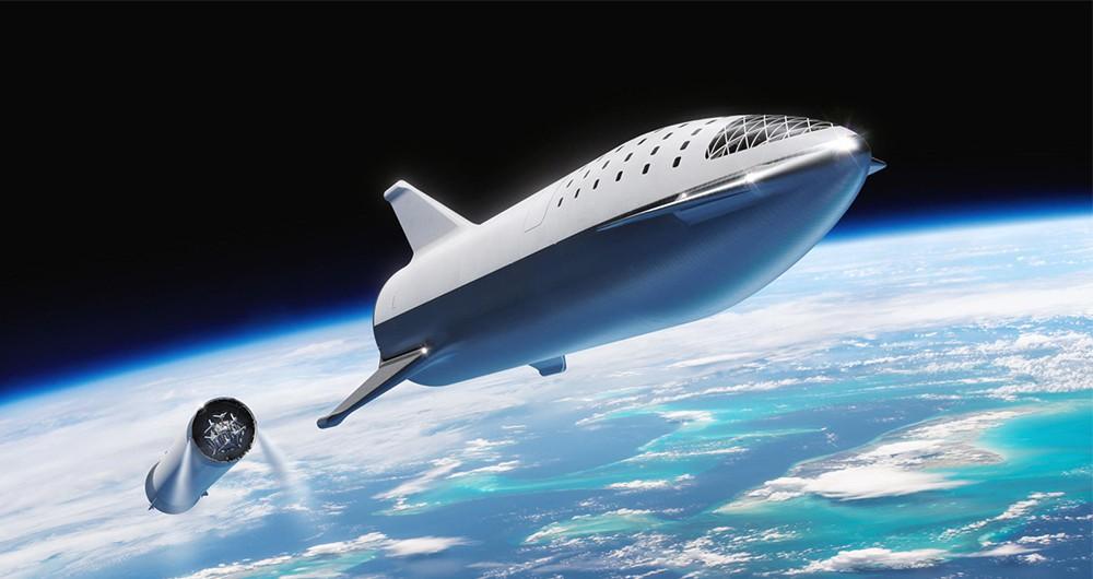 اولین پرواز تجاری استارشیپ شرکت SpaceX در سال 2021 انجام...
