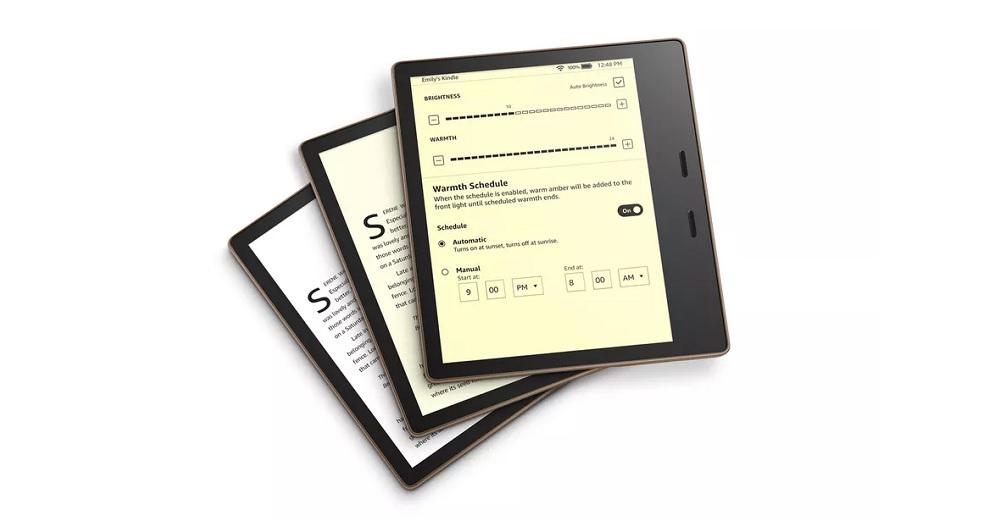 کتابخوان آمازون کیندل اوسیس جدید از راه رسید؛ امکان تنظیم دمای رنگ نمایشگر