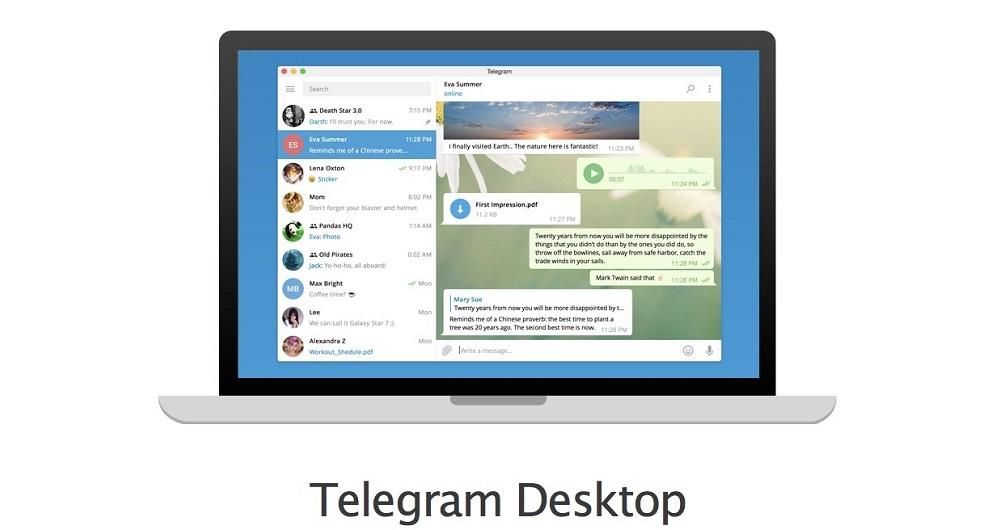 آموزش نصب تلگرام