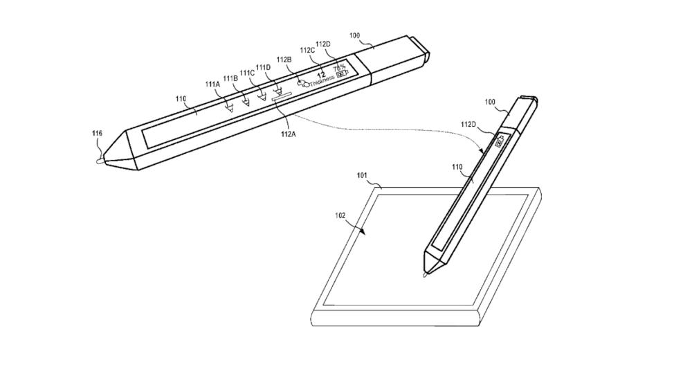 پتنت جدید مایکروسافت به نمایشگر لمسی سرفیس پن اشاره می کند