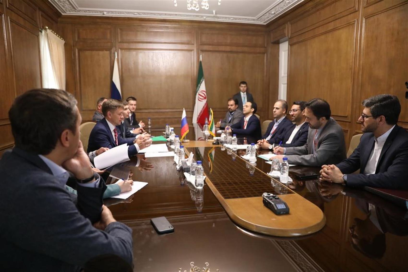 علاقه مندی به سرمایه گذاری روسیه در ایران