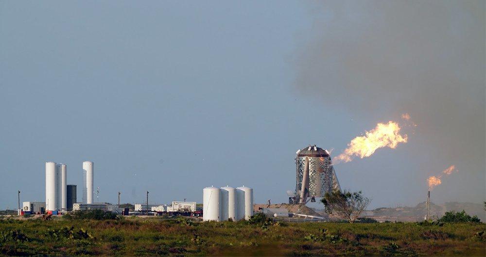 آزمایش موشک استارهاپر شرکت اسپیس ایکس شکست خورد!