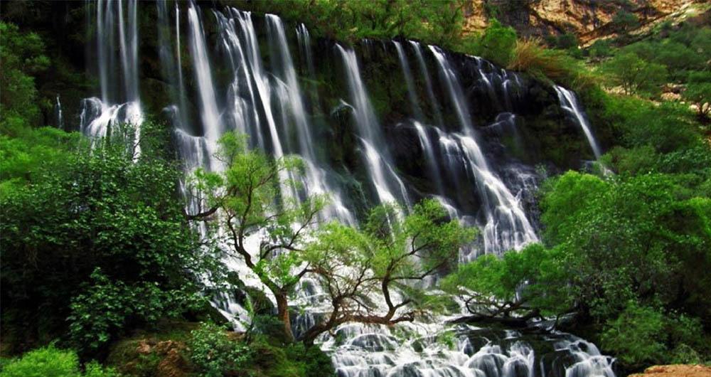 بلندترین آبشارهای ایران که شما را شگفت زده می کنند