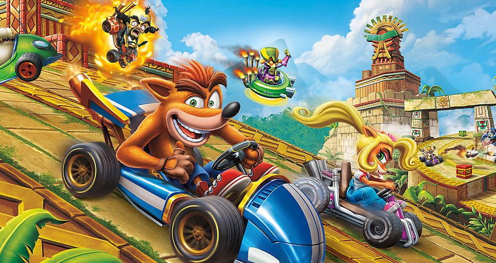 جدول فروش هفتگی بریتانیا: بازگشت Crash Team Racing به صدر