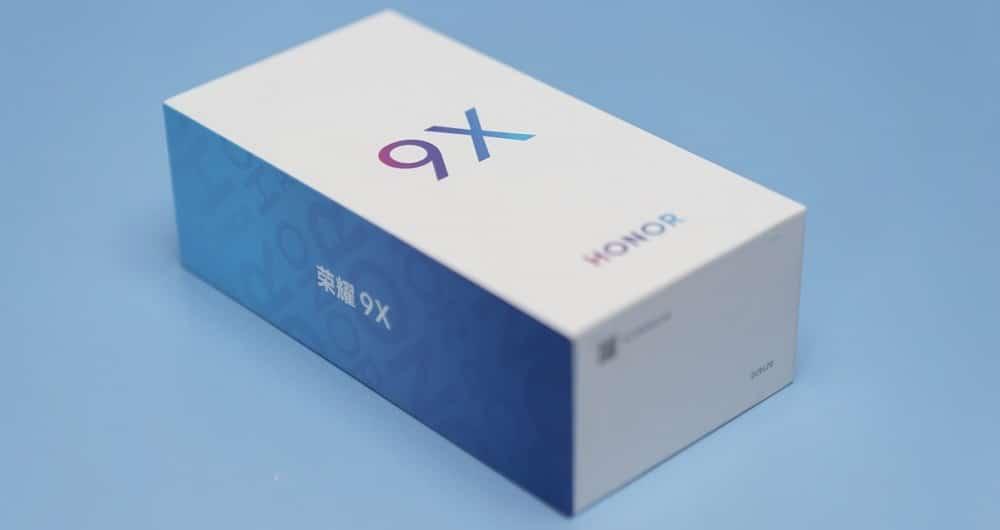 جعبه آنر 9X در چندین تصویر به نمایش گذاشته شد