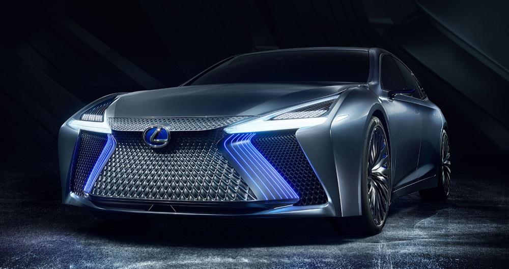 خودروی مفهومی الکتریکی لکسوس