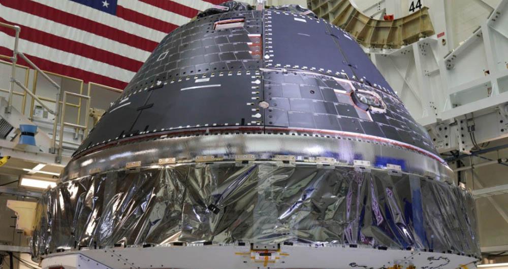 کپسول خدمه اوریون سازمان ناسا آماده سفر به ماه است
