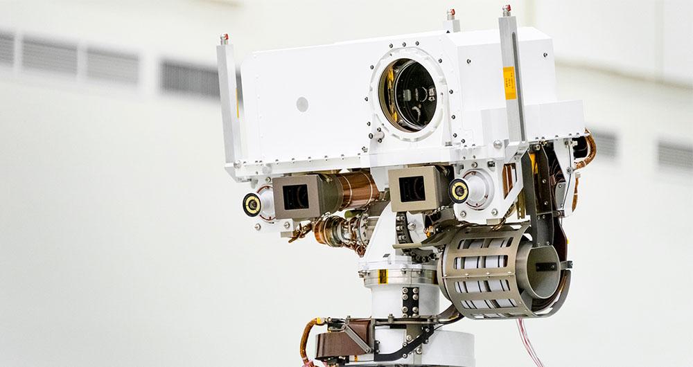 مریخ نورد 2020 ناسا از آزمایش های دیداری خود سربلند بیرون آمد!