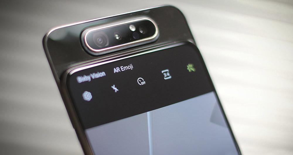 بررسی ویدیویی گلکسی A80 | بررسی سامسونگ Galaxy A80