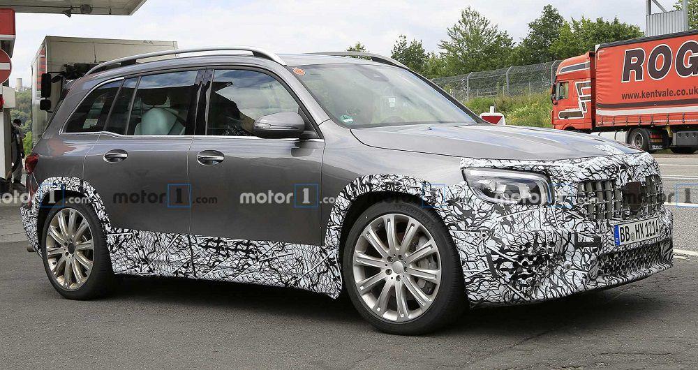 خودروی AMG GLB در نمایشگاه خودروی فرانکفورت معرفی می شود