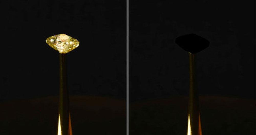 دانشمندان ام آی تی موفق به تولید سیاه ترین ماده جهان شدند