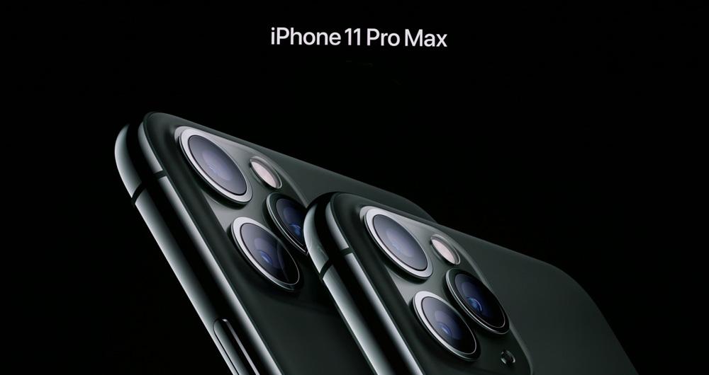 آیفون 11 پرو مکس مجهز به دوربین اصلی سه گانه رسما معرفی شد