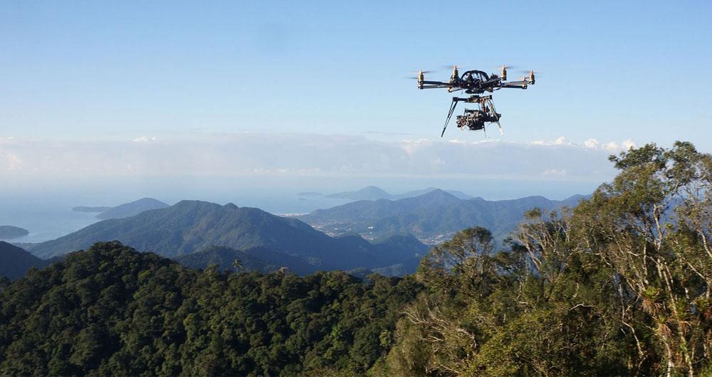 شناسایی اکوسیستم جنگل های آمازون با استفاده از پهپاد