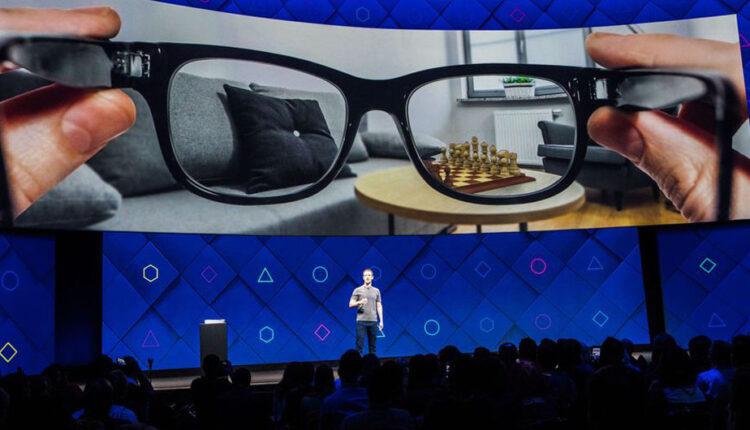 عینک واقعیت افزوده فیس بوک نقشه جهان را به تصویر می کشد