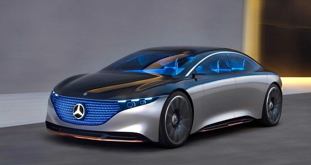 مرسدس بنز Vision EQS از راه رسید؛ خودرویی از آینده!
