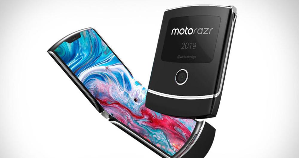 احتمال عرضه گوشی انعطاف پذیر موتورولا RAZR در اواخر 2019