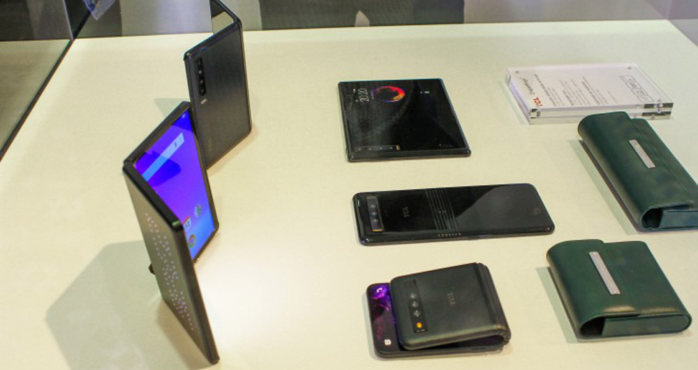 معرفی نخستین گوشی های TCL در نمایشگاه 2019 IFA