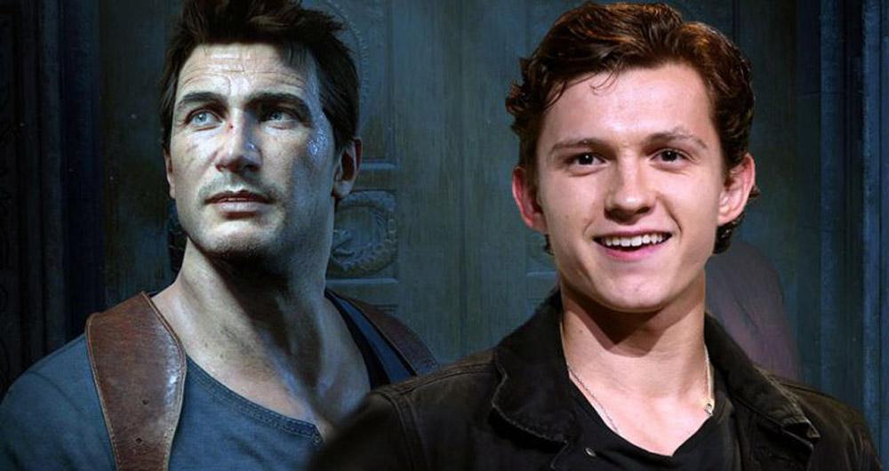 تام هالند در فیلم Uncharted