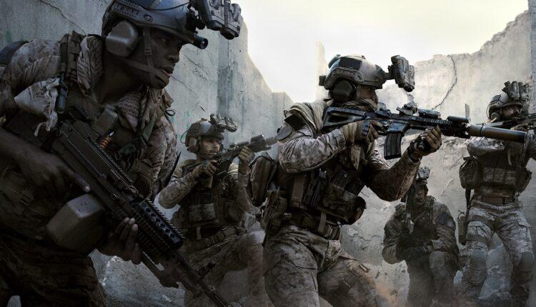 حجم بازی Call of Duty: Modern Warfare