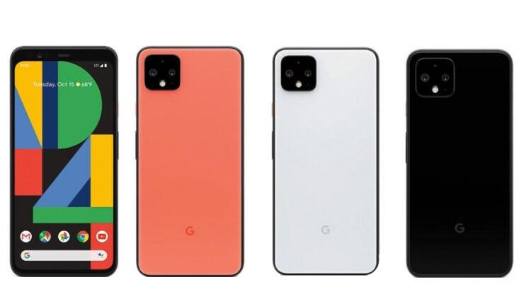 اضافه شدن رنگ های جدید به گوشی گوگل پیکسل 4
