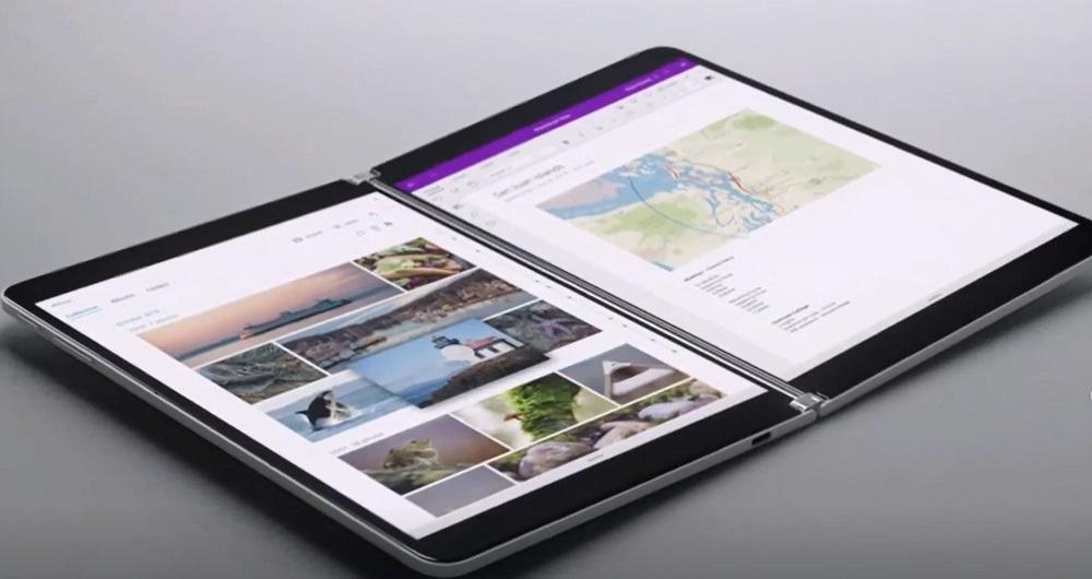 سرفیس Neo مایکروسافت با نمایشگر دوگانه معرفی شد