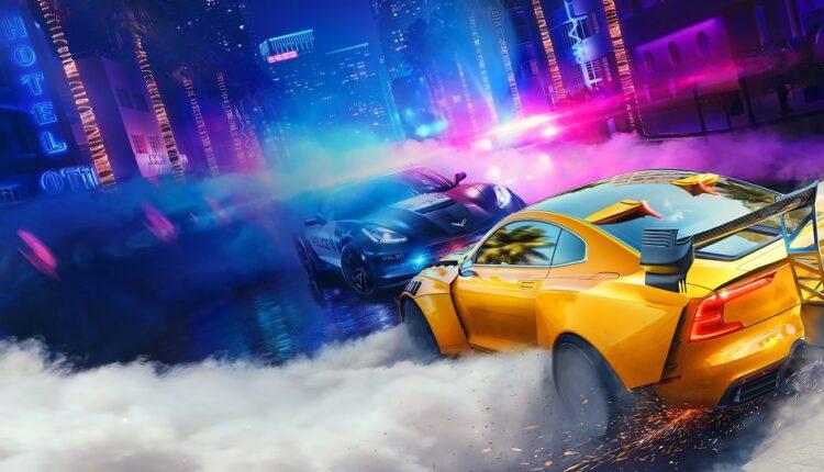 ساخت بازی Need for Speed Heat