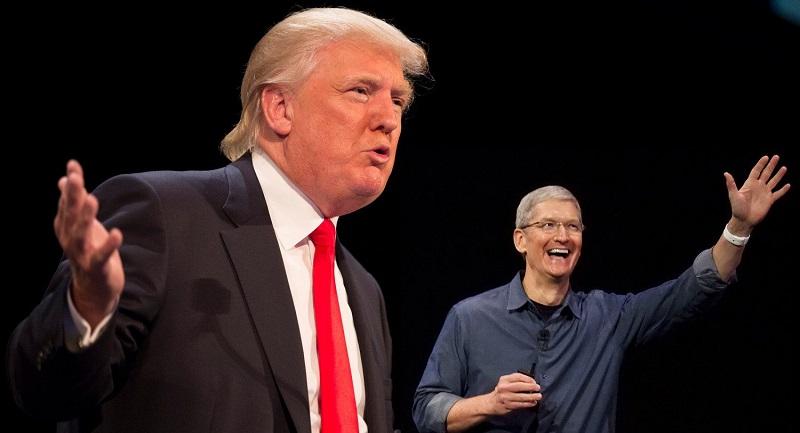 دونالد ترامپ کارخانه اپل