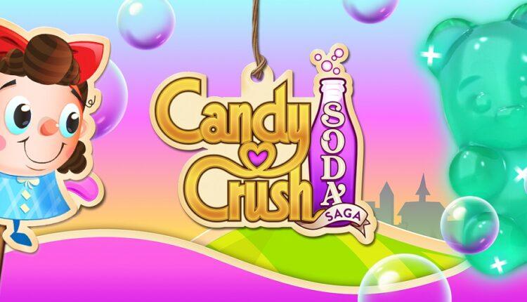درآمد بازی Candy Crush Soda Saga