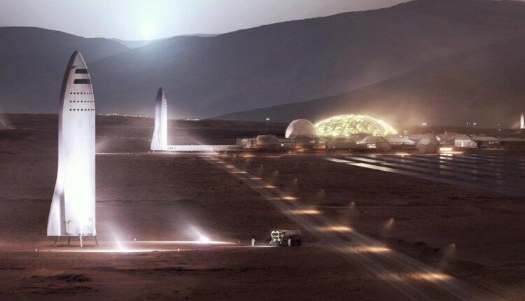 شهر روی مریخ