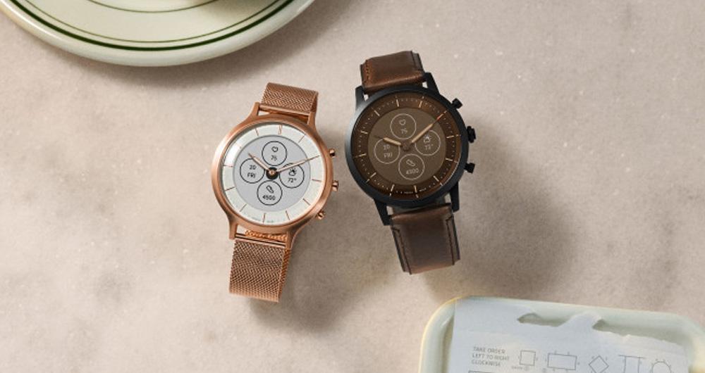 ساعت هوشمند فسیل Hybrid HR با دو هفته شارژدهی معرفی شد