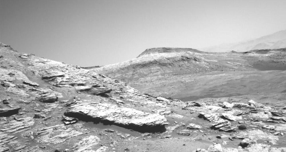 تصاویر مریخ توسط مریخ نورد کیوریاسیتی