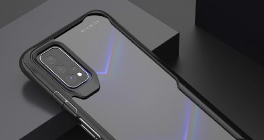 رندر قاب گوشی آنر V30 به ماژول دوربین مستطیل شکل اشاره می کند