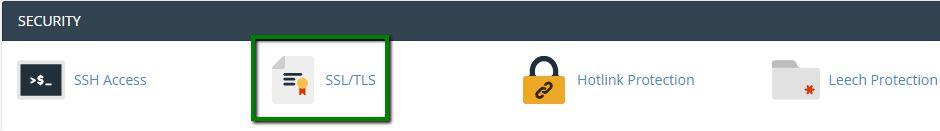 آموزش نصب گواهینامه SSL در cPanel