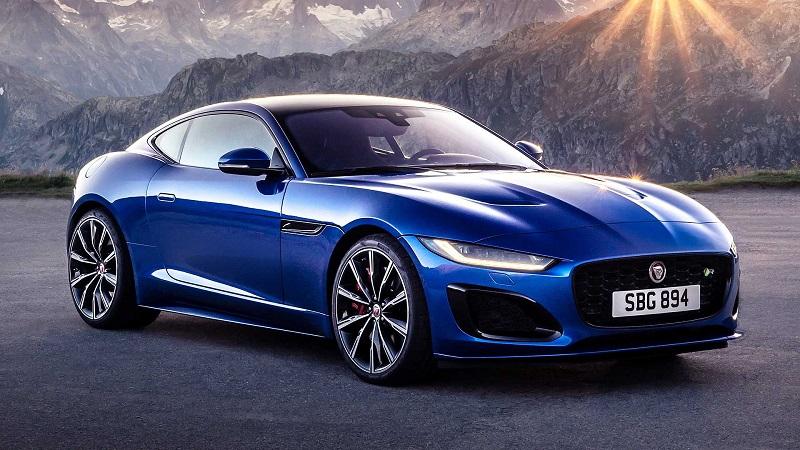 جگوار F-Type مدل 2021