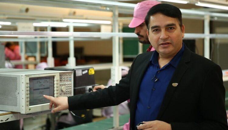 مدیر عامل GLX گوشی جی ال ایکس لوکس شاهین 2