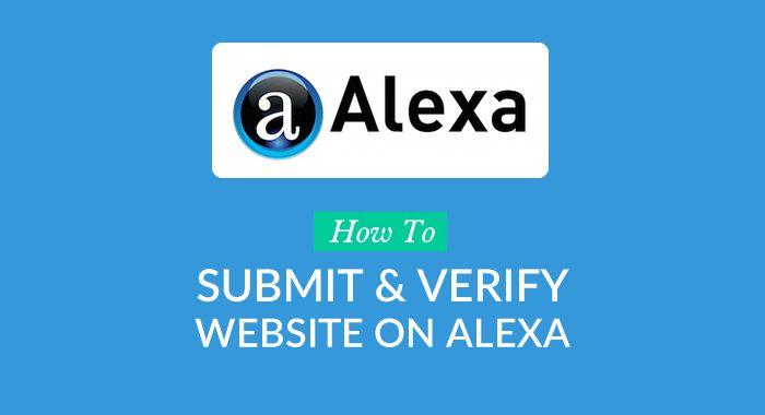 ثبت سایت در الکسا | ساخت اکانت در الکسا